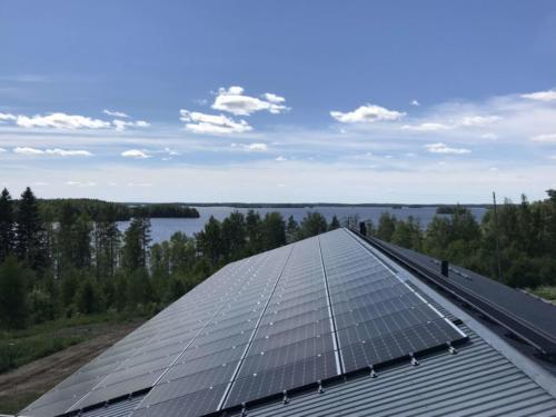 Aurinkopaneelit / Solar panels